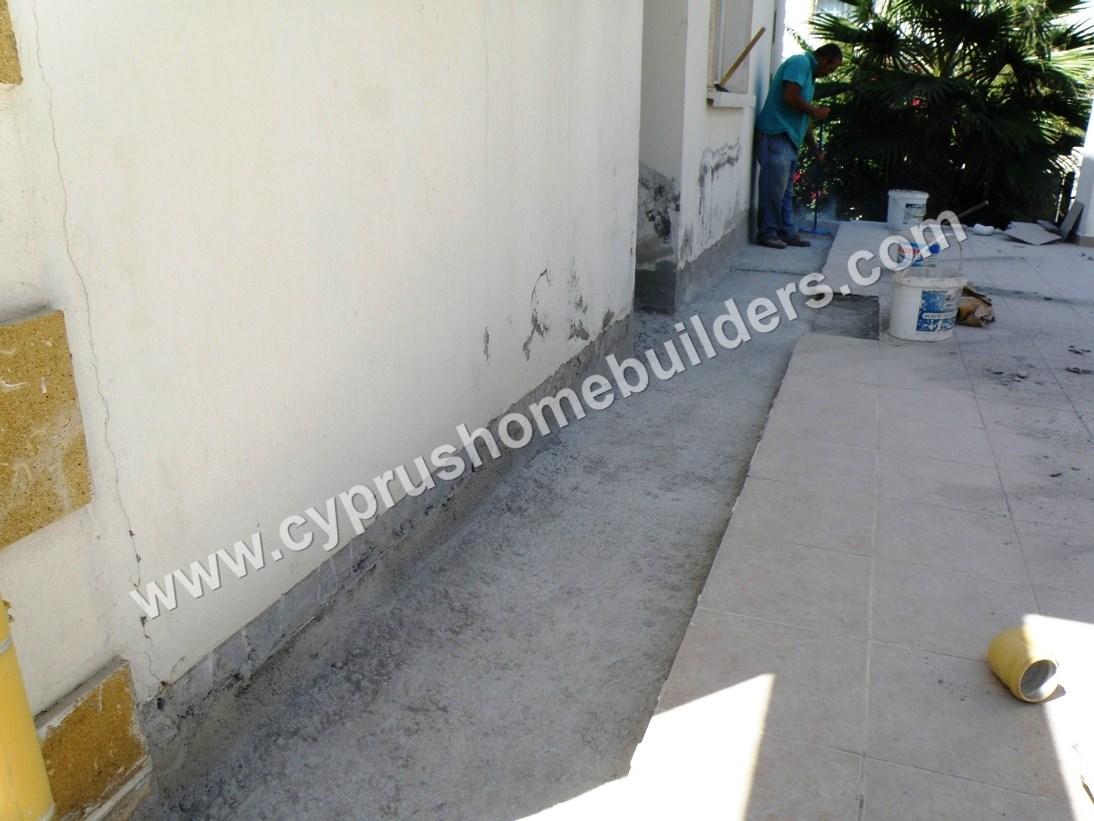 Rising damp in kar yaka portfolio cyprus homebuilders for Www homebuilders com