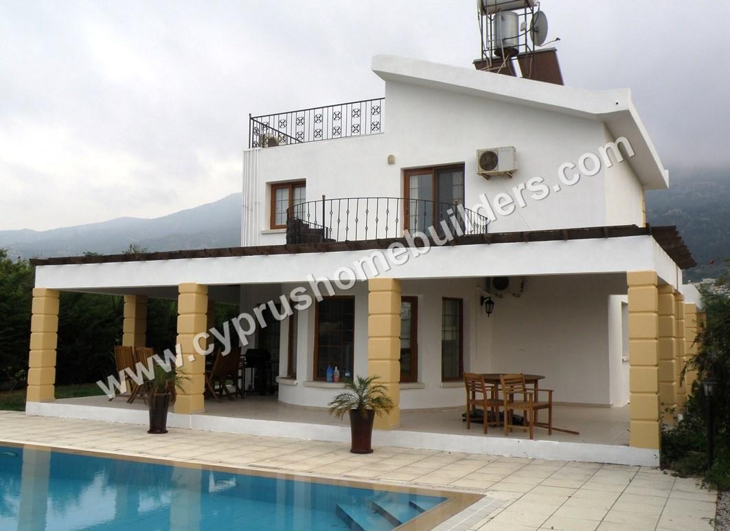 Villa painted in lapta portfolio cyprus homebuilders for Www homebuilders com