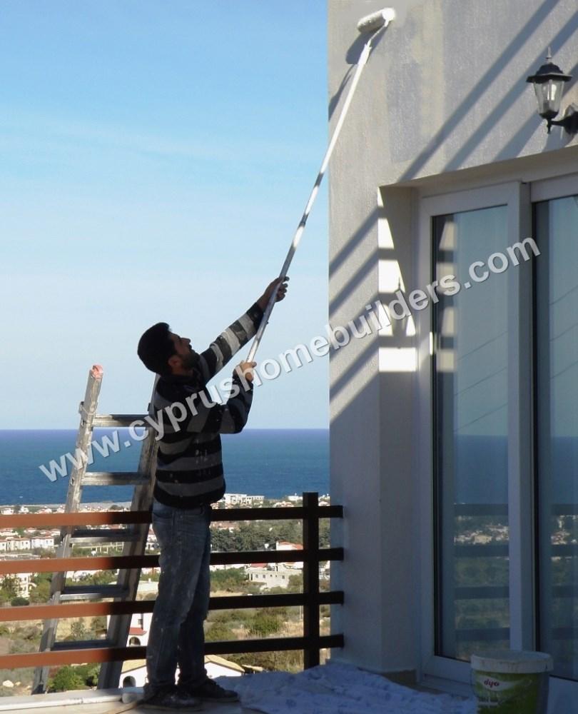 House painted in kar yaka portfolio cyprus homebuilders for Www homebuilders com