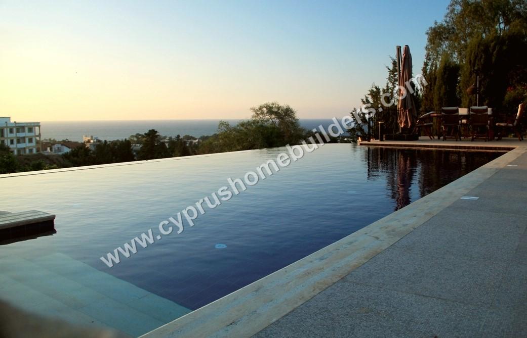 Build a Swimming Pool in the TRNC | Cyprus Homebuilders