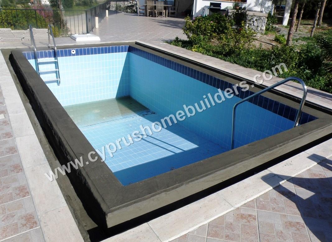 Renovate Pool Tile Amp Coping In The Trnc Cyprus Homebuilders